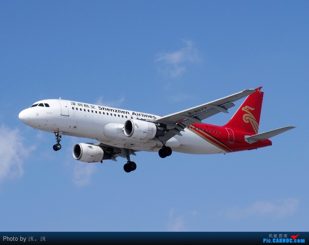 Re:[原创]雪后、蓝天、白云——周末桃仙作业 AIRBUS A320-214 B-6377 中国沈阳桃仙机场