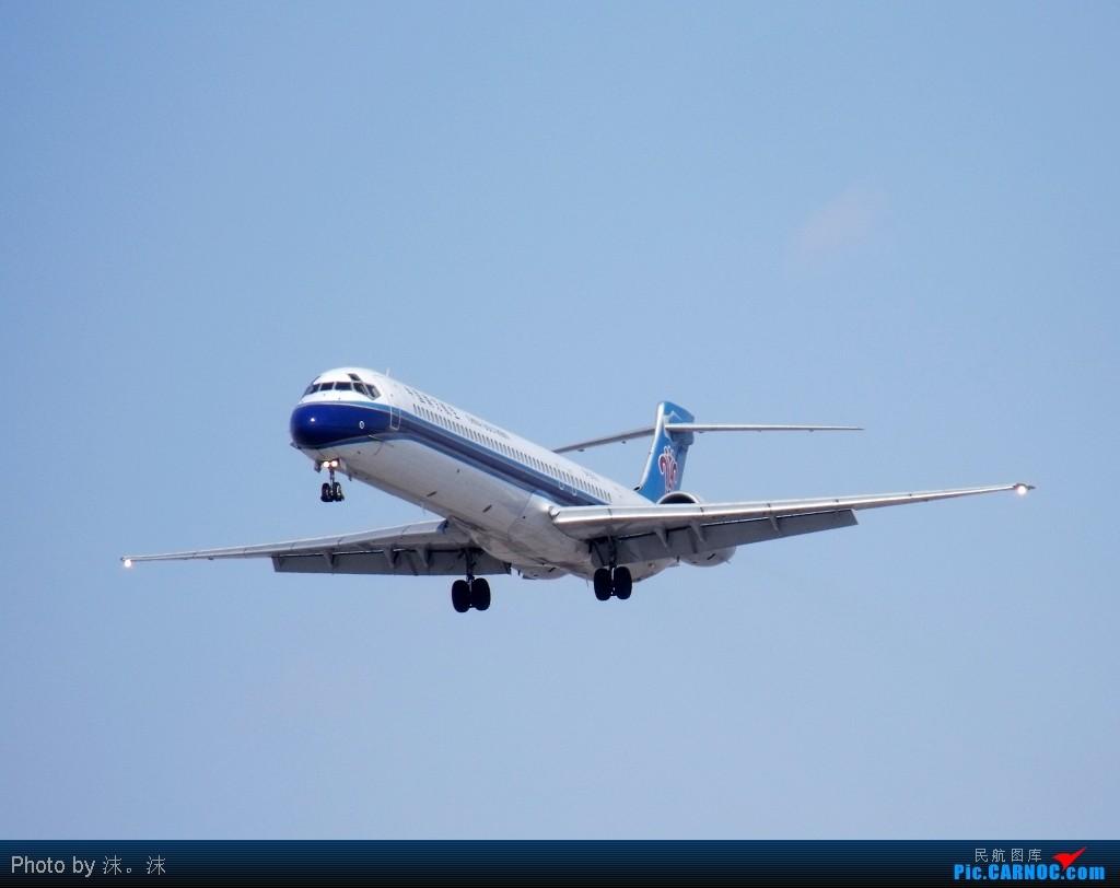 Re:[原创]雪后、蓝天、白云——周末桃仙作业 MCDONNELL DOUGLAS MD-90 B- 中国沈阳桃仙机场