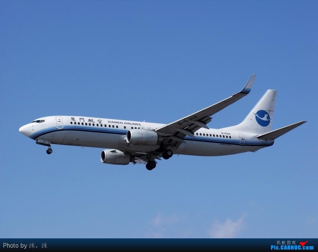 Re:[原创]雪后、蓝天、白云——周末桃仙作业 BOEING 737-800WL B-5319 中国沈阳桃仙机场