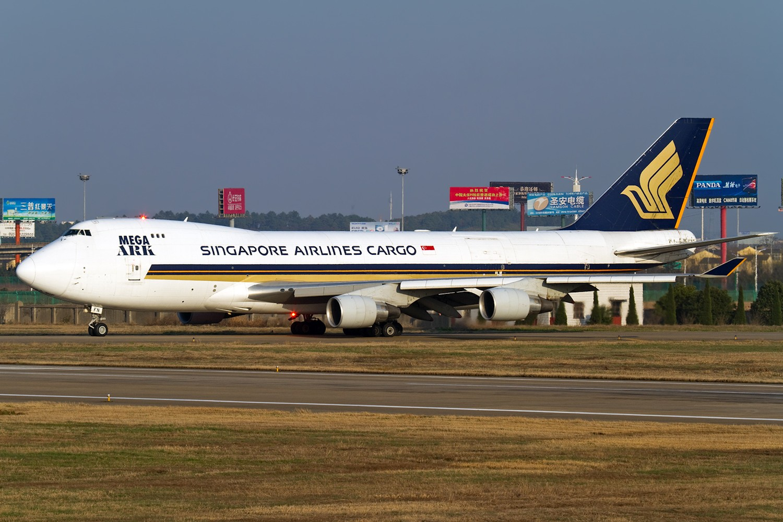 [原创]【BLDDQ】******下过黄沙又下雨----降温过后就是大晴天----先炒自己家的冷饭****** BOEING 747-400F 9V-SFN 中国南京禄口机场
