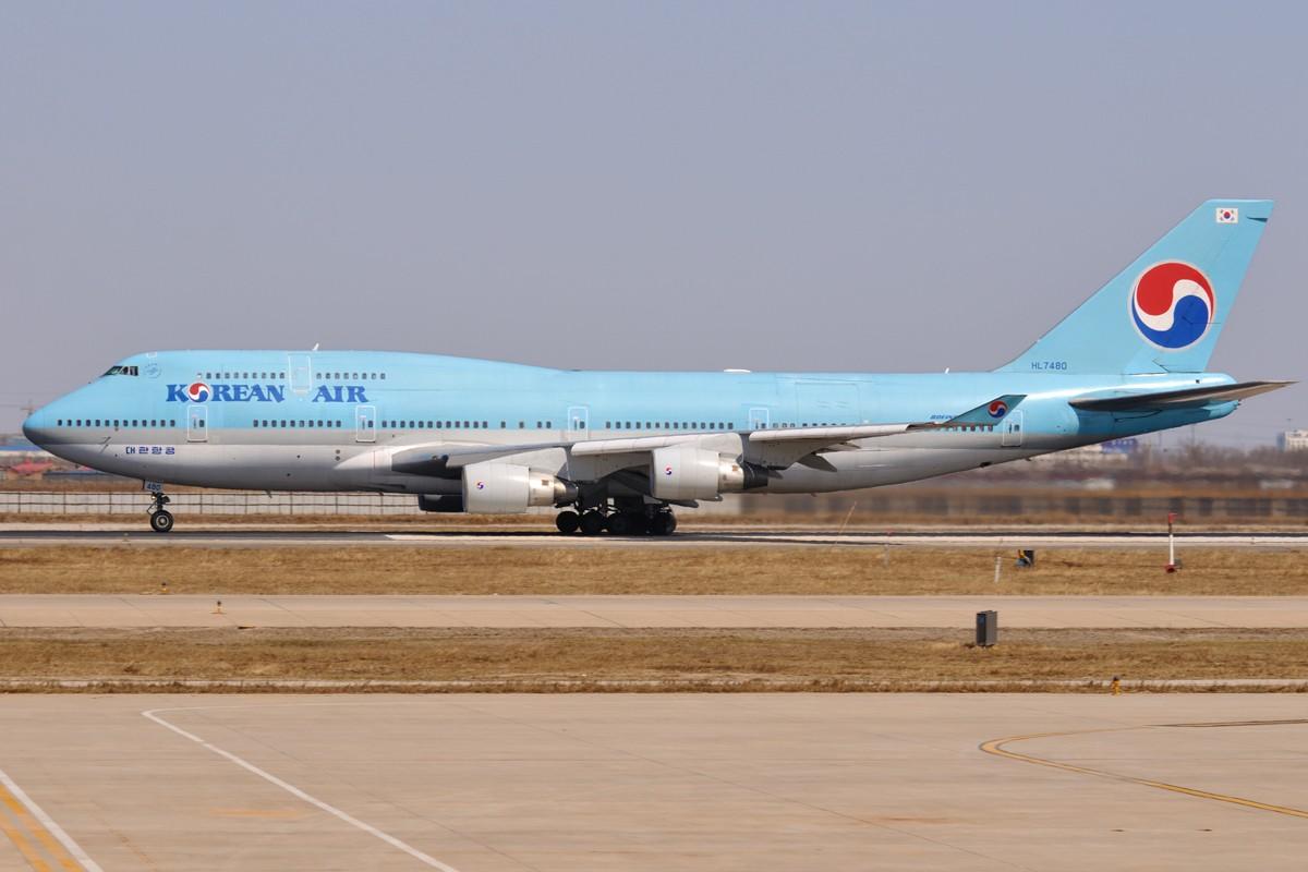 Re:【TSN飞友会】好天,好机若干 BOEING 747-400 HL7480 中国天津滨海机场