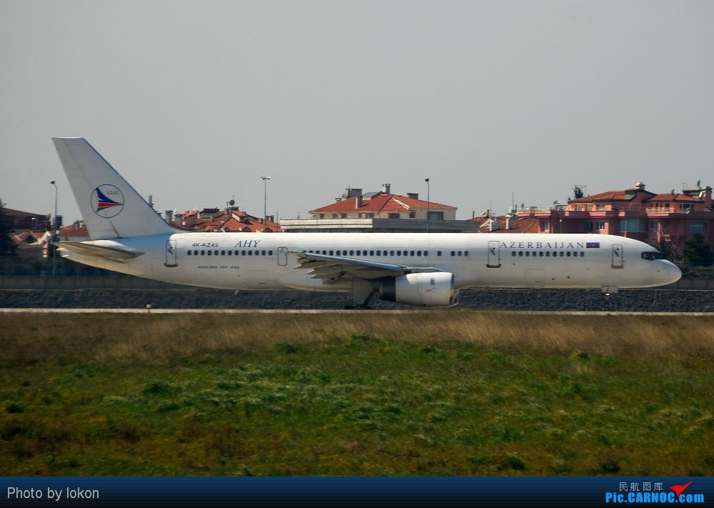 Re:伊斯坦布尔机场 BOEING 757-2M6 4K-AZ43