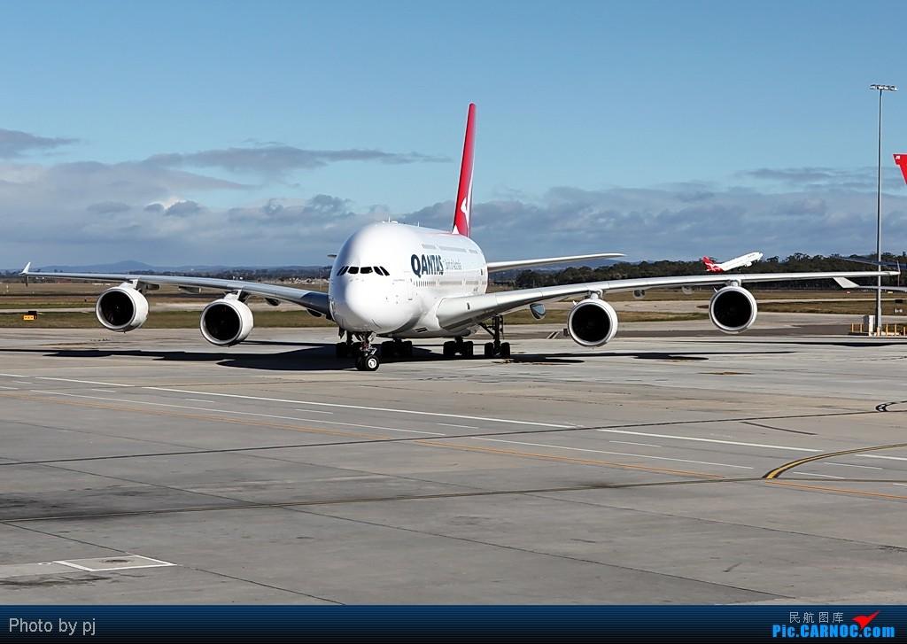澳洲航空A380客机 AIRBUS A380  Australia MELBOURNE TULAMARINE