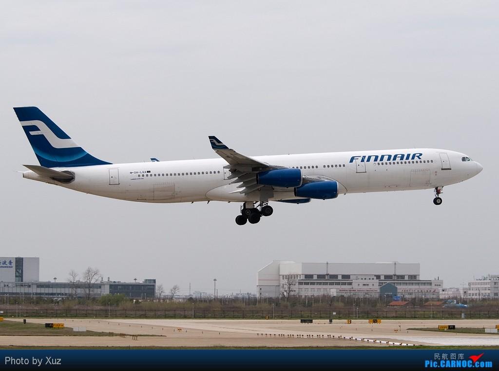 Re:[原创]浦东拍机两日 AIRBUS A340-300 OH-LQA 中国上海浦东机场