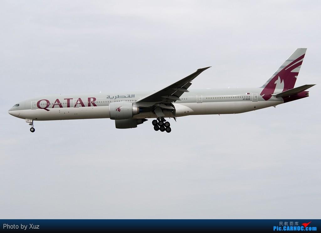 Re:[原创]浦东拍机两日 BOEING 777-300 A7-BRB 中国上海浦东机场