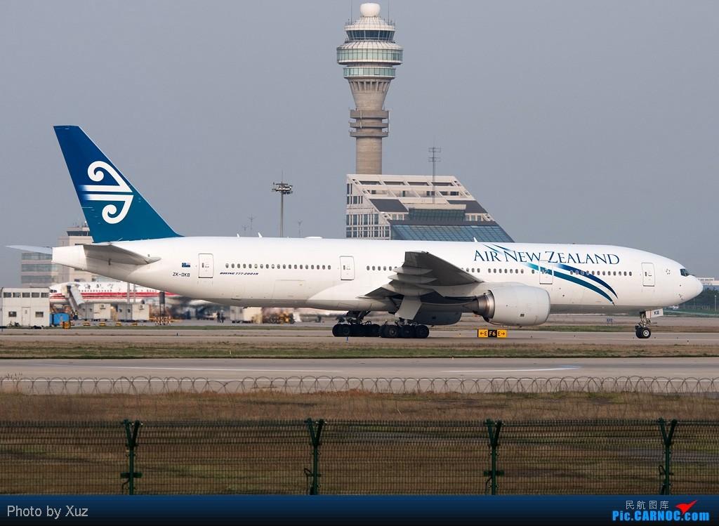 Re:[原创]浦东拍机两日 BOEING 777-200 ZK-OKG 中国上海浦东机场