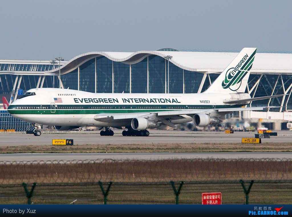 Re:[原创]浦东拍机两日 BOEING 747-200 N485EV 中国上海浦东机场