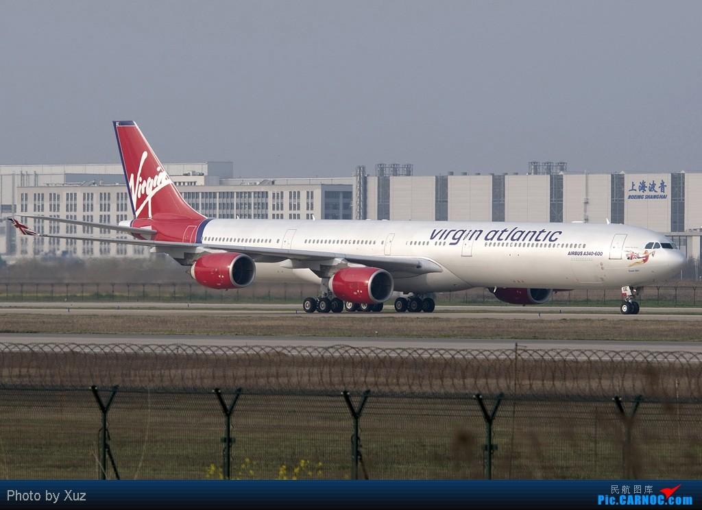 Re:[原创]浦东拍机两日 AIRBUS A340-600 G-VOGE 中国上海浦东机场
