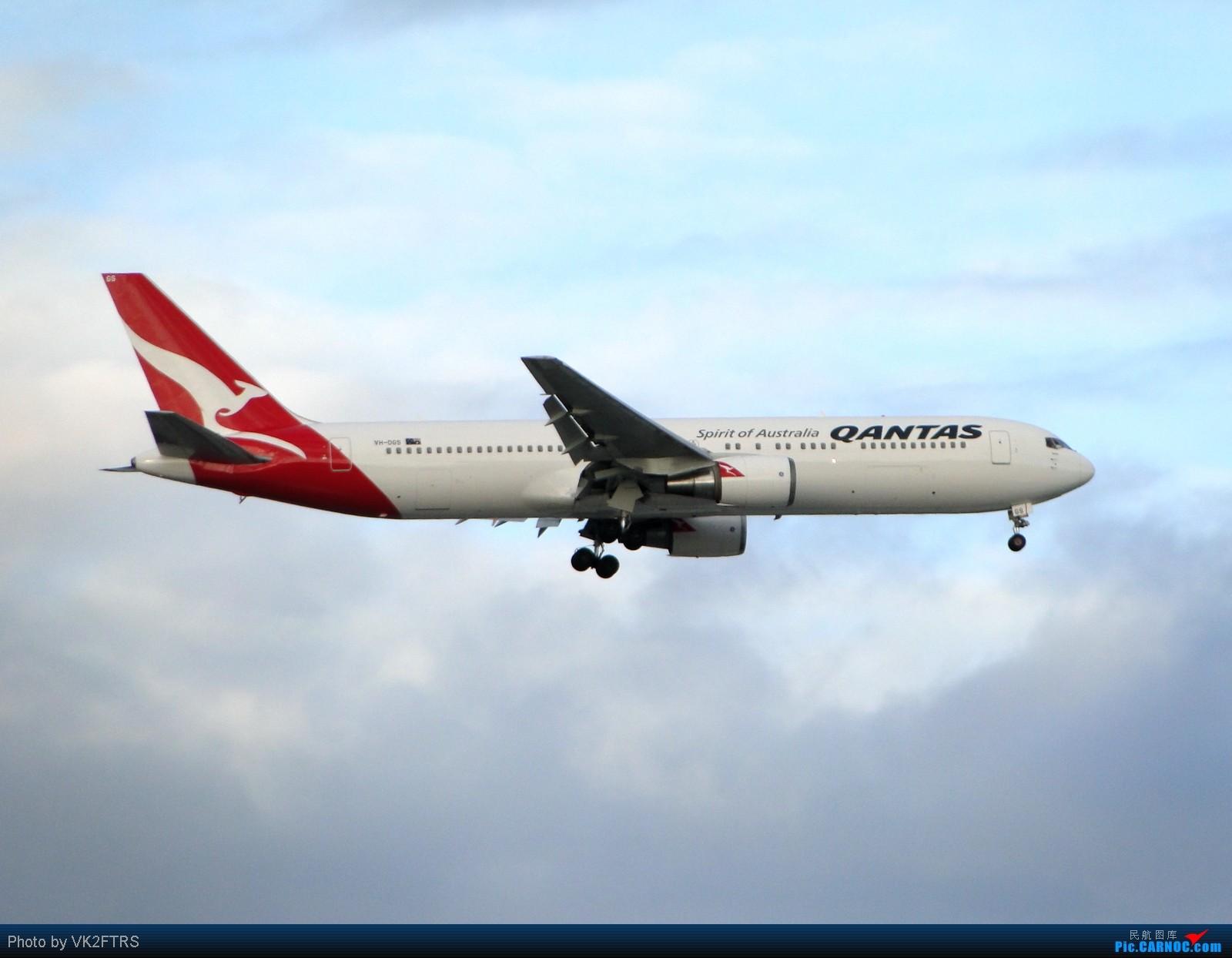 Re:第一次去拍飞机,在跑道16R外70m的地方。悉尼SYD/YSSY BOEING 767 VH-OGS SYD/YSSY