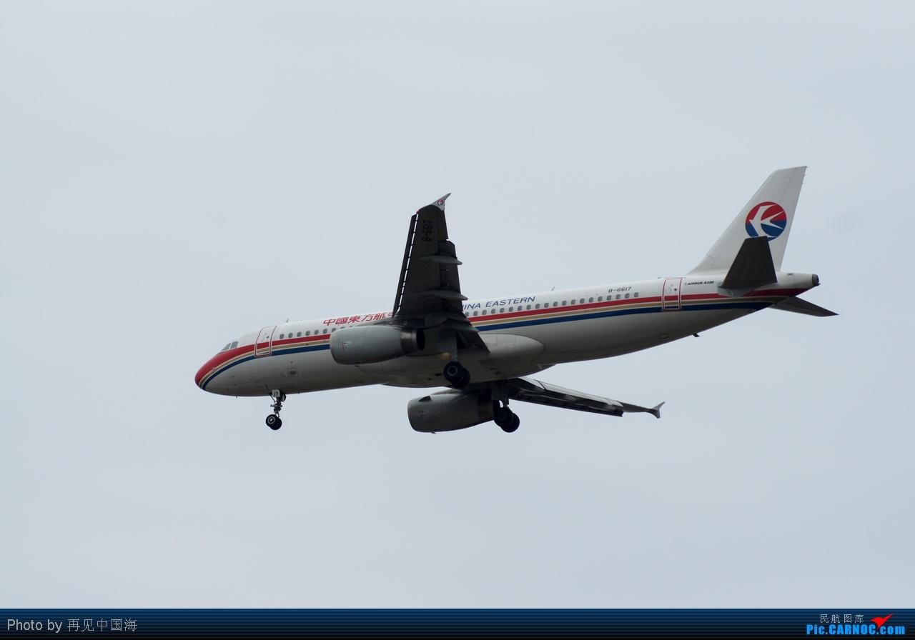 Re:[原创]W 边走边拍机(初次拍机) 海天三路站是个好地方 A网上叫stevenxi的A网的DAVID叫你回上海吃饭了 AIRBUS A320 B-6617 中国上海浦东机场