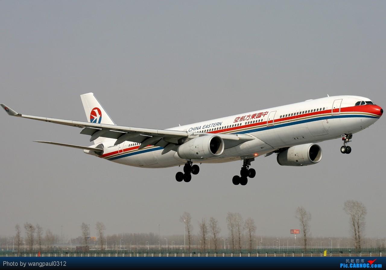 Re:[原创]团结的力量最大!看看合并后的队伍是怎样的----------------上海帮 AIRBUS A330-300 B-6095 中国北京首都机场