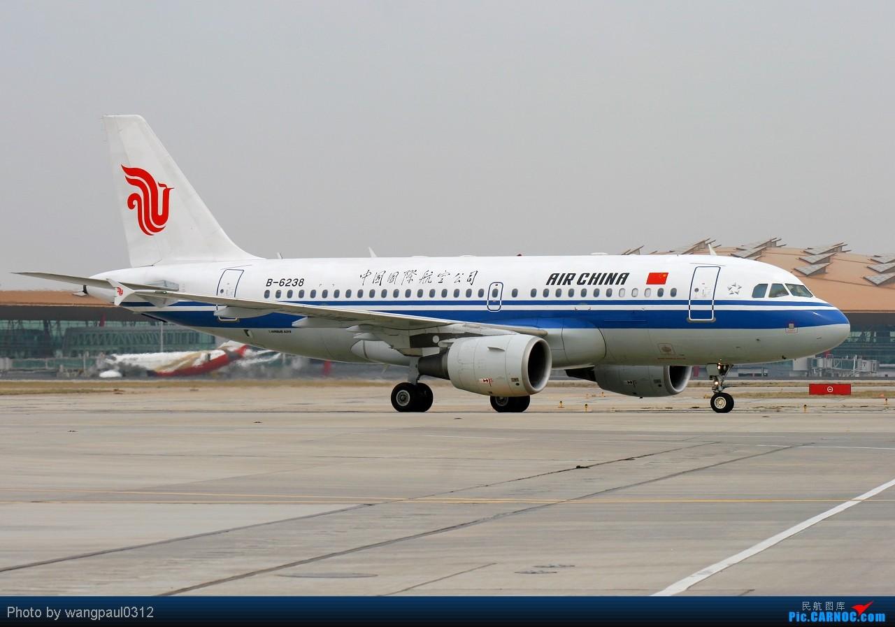 [原创]这架空中客车A319客机即将从首都机场起飞赶赴青海玉树灾区--向遇难的同胞们默哀 AIRBUS A319-100 B-6238 北京首都国际机场