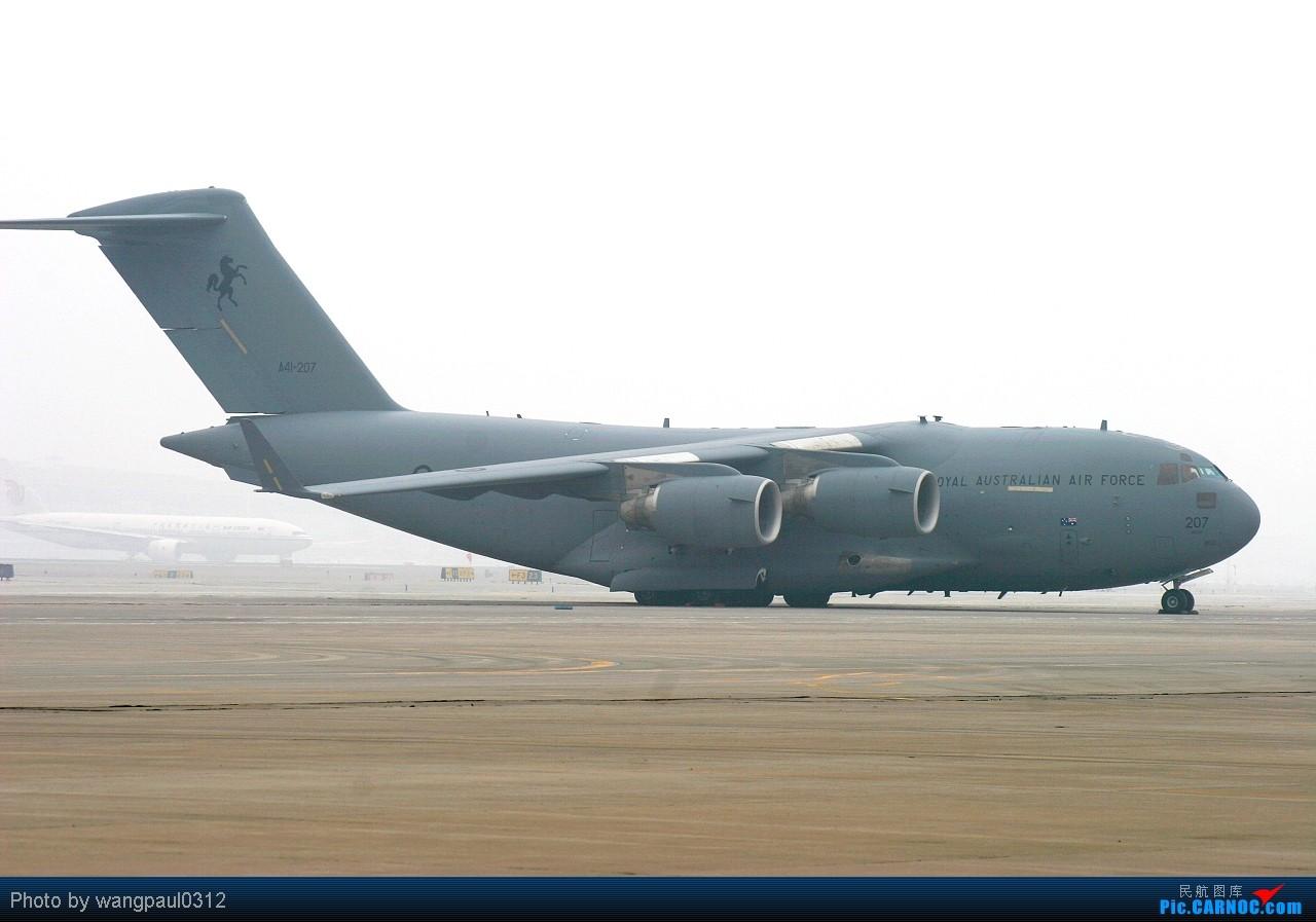Re:[原创][首发]♡♡♡首都航空首架A319客机亮相首都国际机场♡♡♡ BOEING C-17A GLOBEMASTER III A41-207 北京首都国际机场