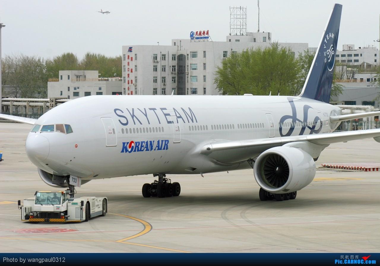 Re:[原创]☪☪最近北京好天不多,发个国内不多见的福克100☪☪ BOEING 777-2B5 (ER) HL7733 北京首都国际机场