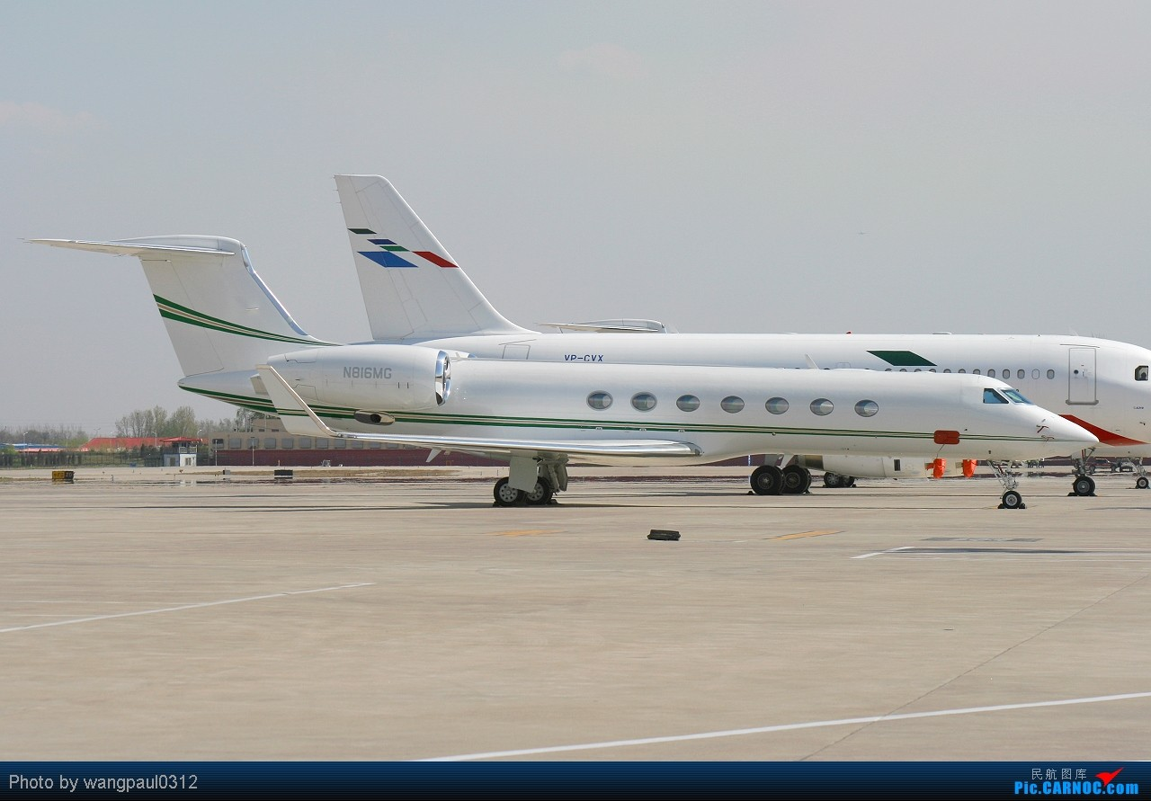 Re:[原创]它的眼睛就像一只雄鹰傲视群雄----北京车展开幕在即,欧洲展商聚首北京 GULFSTREAM AEROSPACE GV-SP (G550) B816MG 北京首都国际机场
