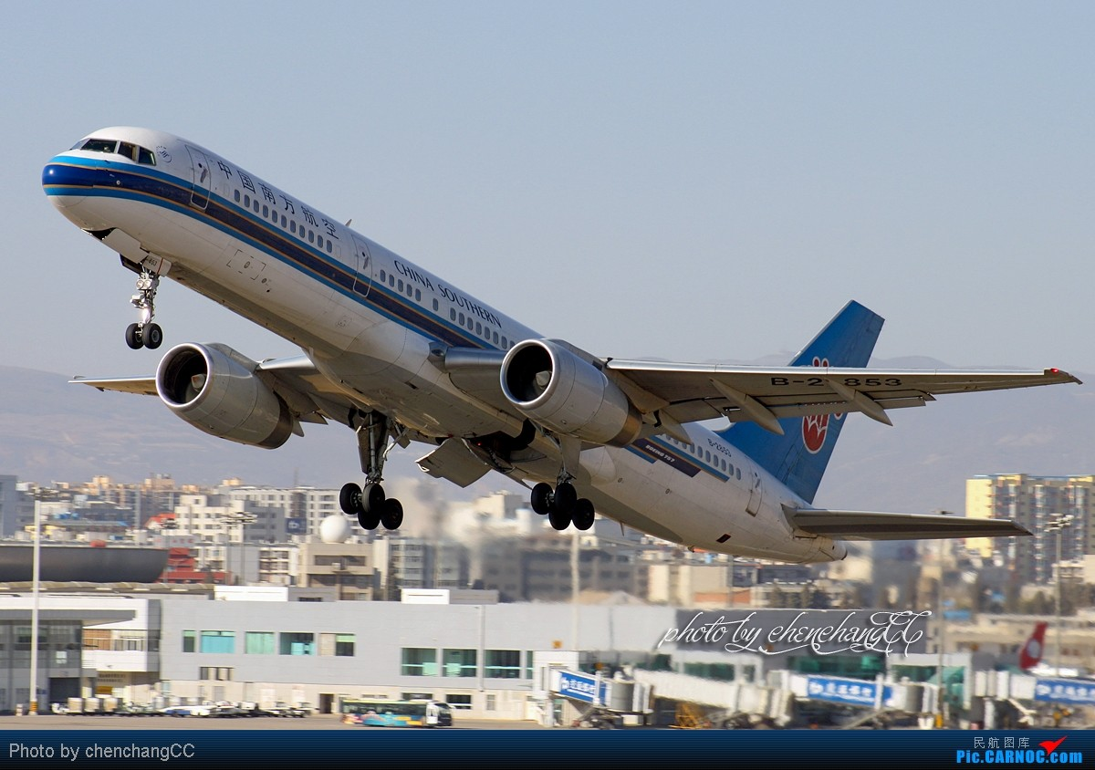 [原创]【chenchangCC】KMG起起落落 BOEING 757-200 B-2853 昆明巫家坝