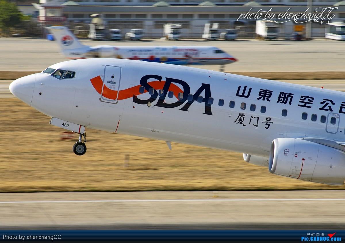 Re:[原创]【chenchangCC】KMG起起落落 BOEING 737-800 B-5452 昆明巫家坝