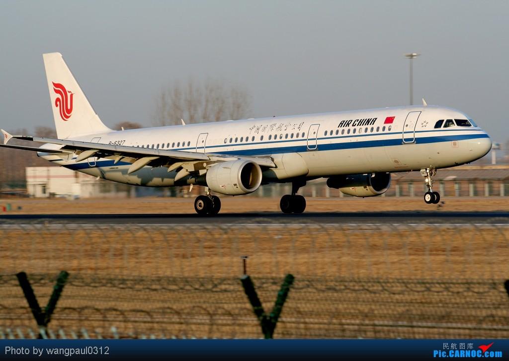 Re:[原创]最近有点忙,错过了些好东西,贴几张08年的超级冷饭凑凑数 AIRBUS A321-200 B-6327 北京首都国际机场