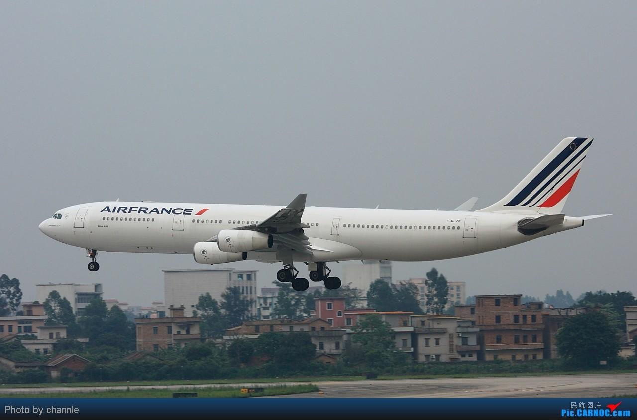 Re:[原创]CAN久违阳光了。。 AIRBUS A340-300 F-GLZA 广州白云