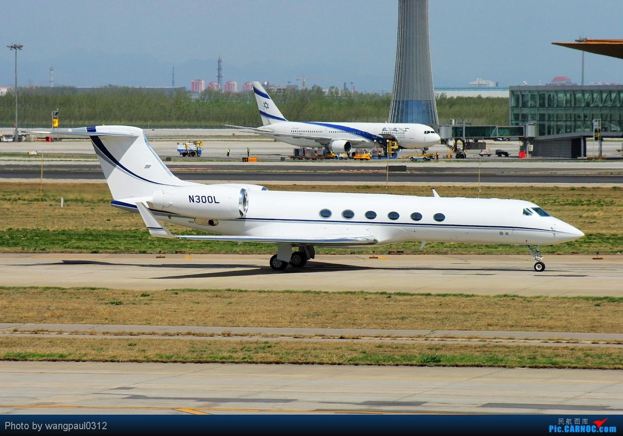 Re:[原创]虽然我本人对匈牙利裔法国总统尼古拉·萨科齐很不感冒,但是他所乘坐的飞机还是依旧喜欢 GULFSTREAM AEROSPACE G-V N300L 北京首都国际机场
