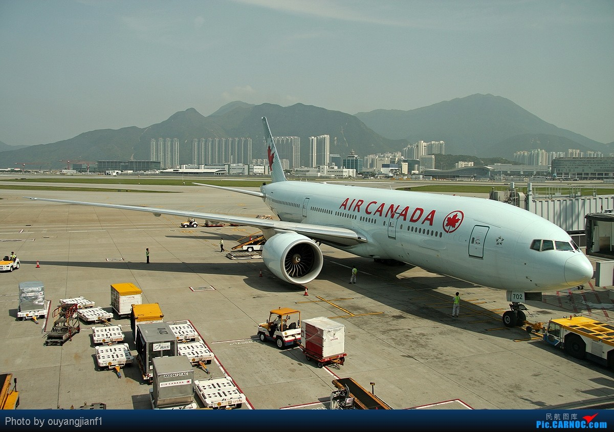 中国最好的拍机圣地-香港赤腊角机场半日游!(逮住380纯属意外) BOEING 777-200 C-FIUF 中国香港赤鱲角国际机场