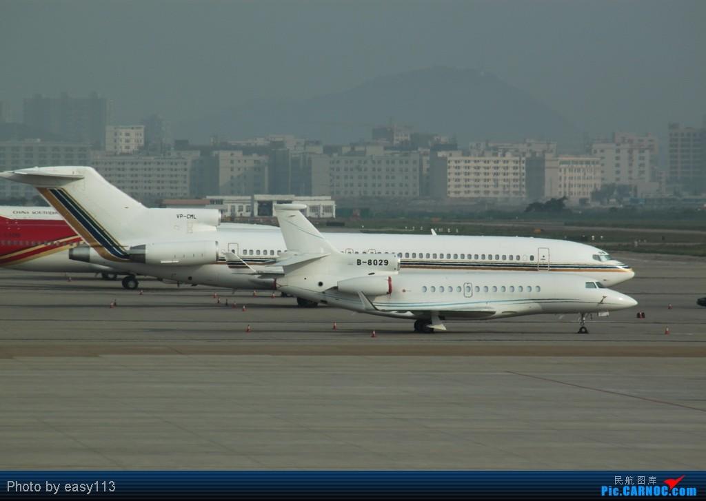 [原创]5月2号在宝安机场拍到的几架飞机 BOEING 727-200 VP-CML 中国深圳宝安机场