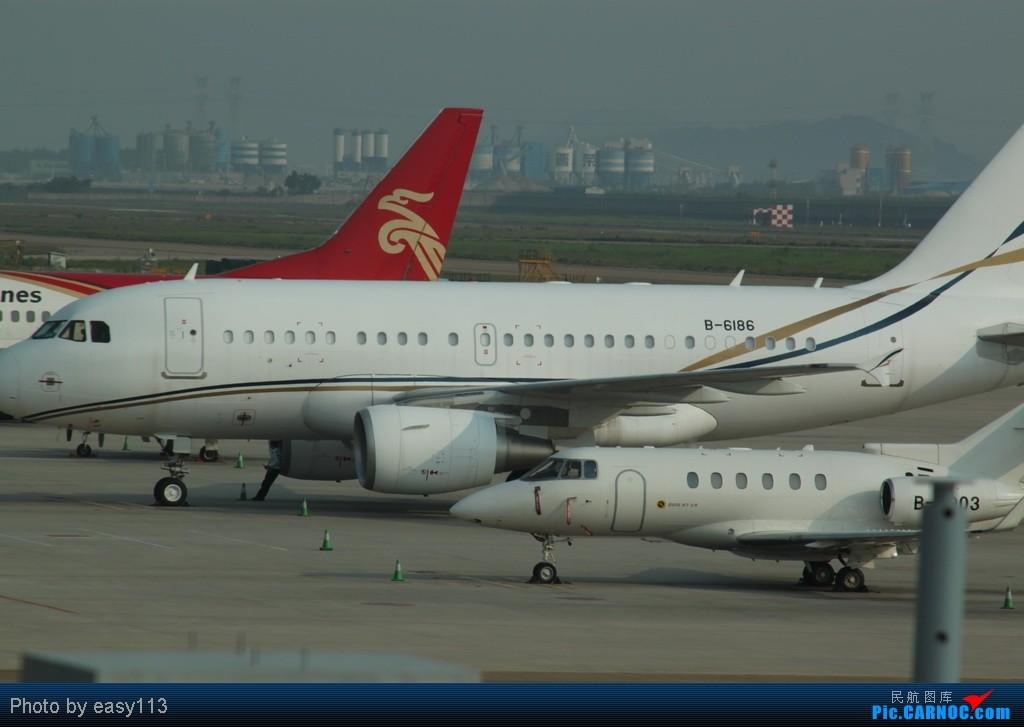 Re:[原创]5月2号在宝安机场拍到的几架飞机 AIRBUS A318-100 B-6186 中国深圳宝安机场