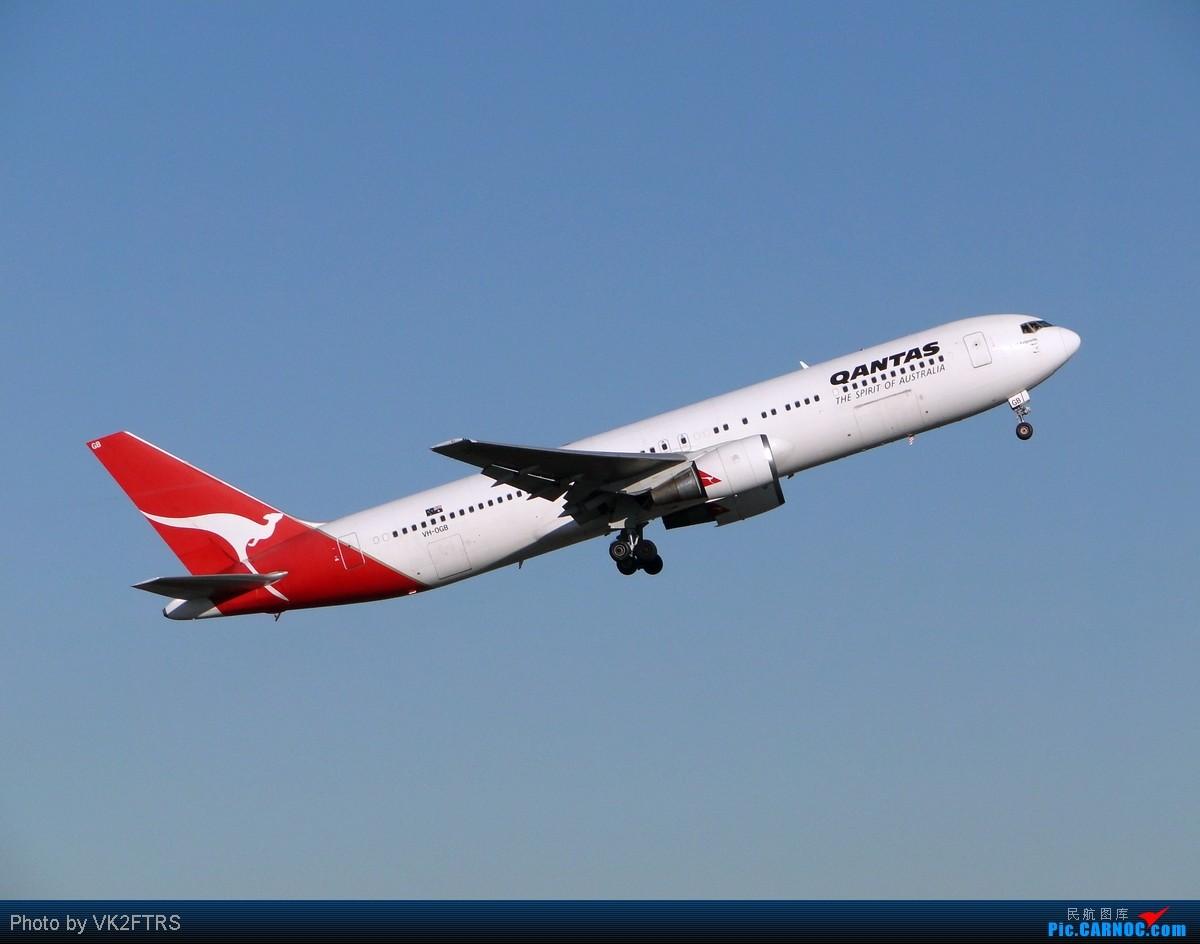 [原创]第一弹,大飞机的天堂!五月飞友们的悉尼(SYD/YSSY)![10P] BOEING 767-300 VH-OGB SYD/YSSY