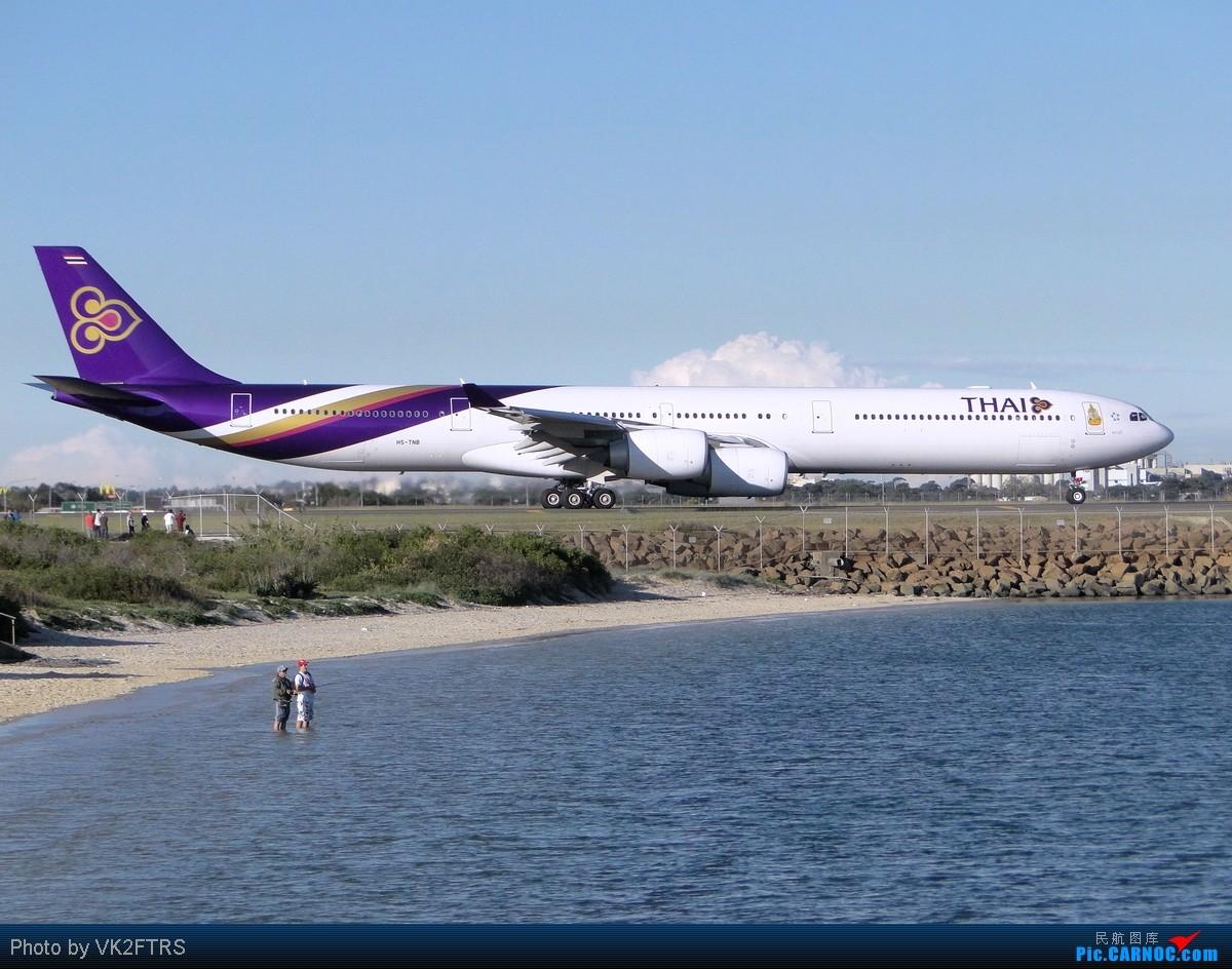 Re:[原创]第一弹,五月飞友们的悉尼(SYD/YSSY)! AIRBUS A340-600 HS-TNB SYD/YSSY