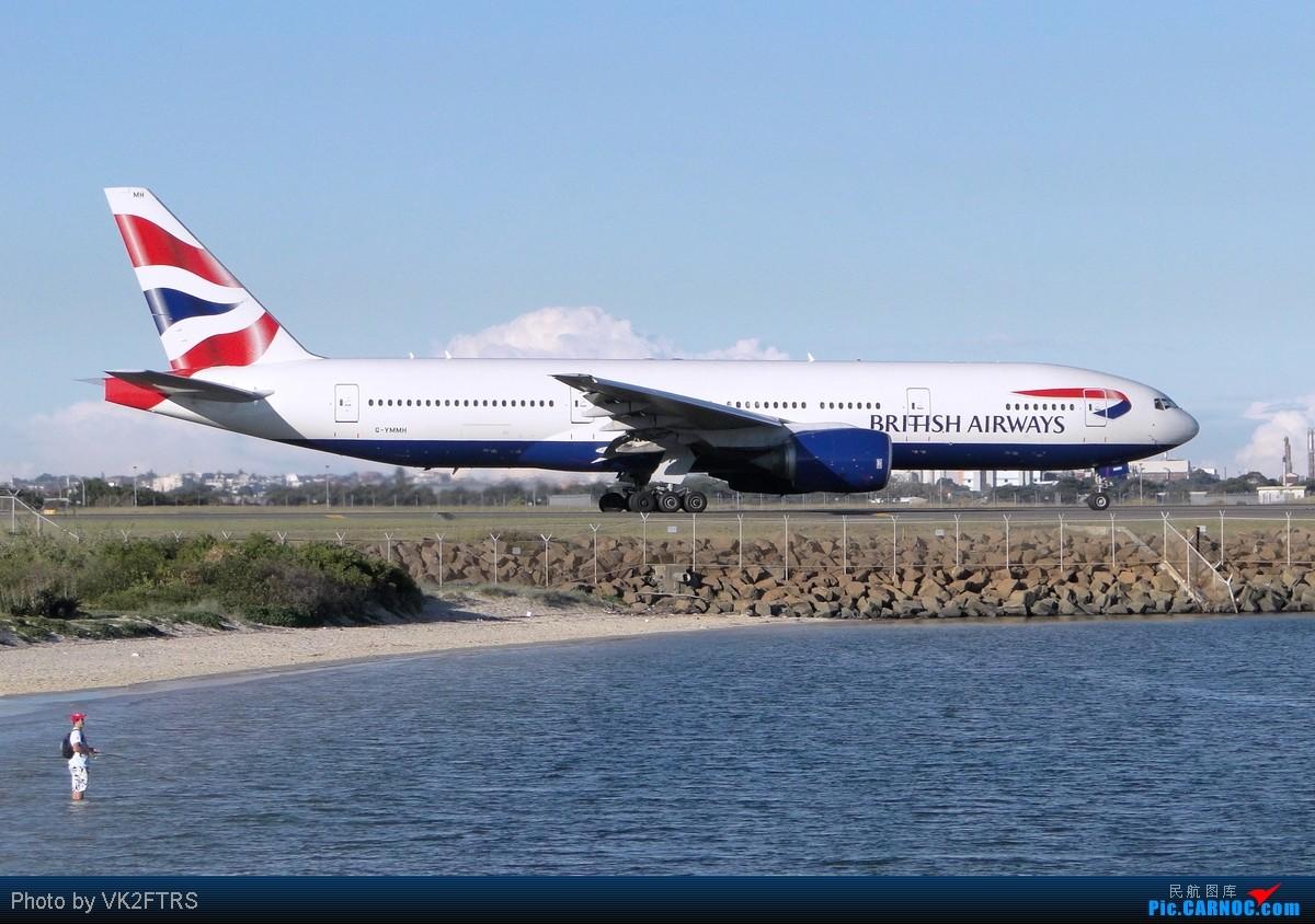 Re:[原创]第一弹,大飞机的聚会!五月飞友们的悉尼(SYD/YSSY)! BOEING 777-200 G-YMMH SYD/YSSY