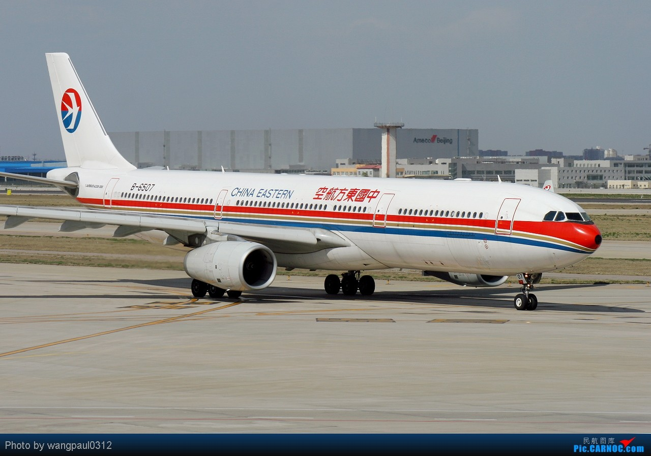 Re:[原创]看就要看新鲜的!中国-阿拉伯国家合作论坛部长级会议而来 AIRBUS A330-343X B-6507 中国北京首都机场