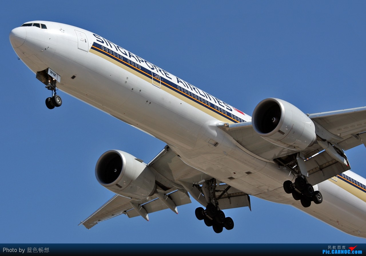 Re:[原创]<绝世痴飞>乍一看太巫家坝了!给你一个高仿真版的山寨巫家坝! BOEING 777-300 9V-SWM 中国北京首都机场