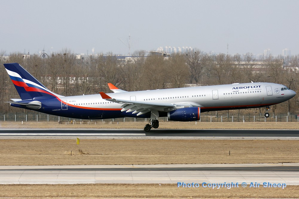 Re:[原创]飘在北京~~ AIRBUS A330-300 VQ-BCU 中国北京首都机场