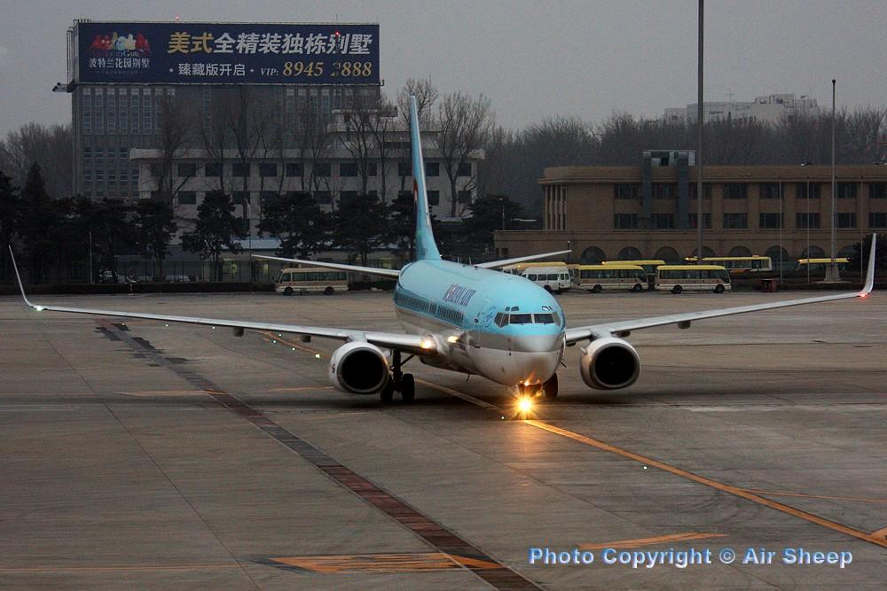 Re:[原创]飘在北京~~ BOEING 737-800 HL7560 中国北京首都机场
