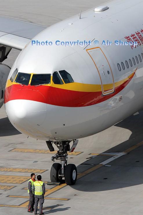 Re:[原创]飘在北京~~ AIRBUS A330-200 B-6116 中国北京首都机场