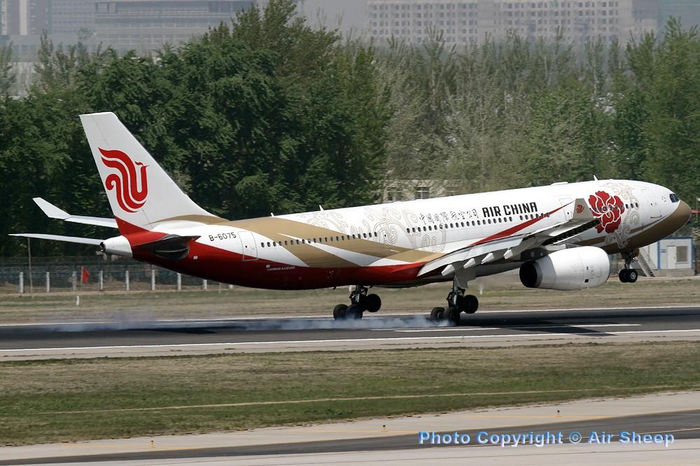 Re:[原创]飘在北京~~ AIRBUS A330-200 B-6075 中国北京首都机场
