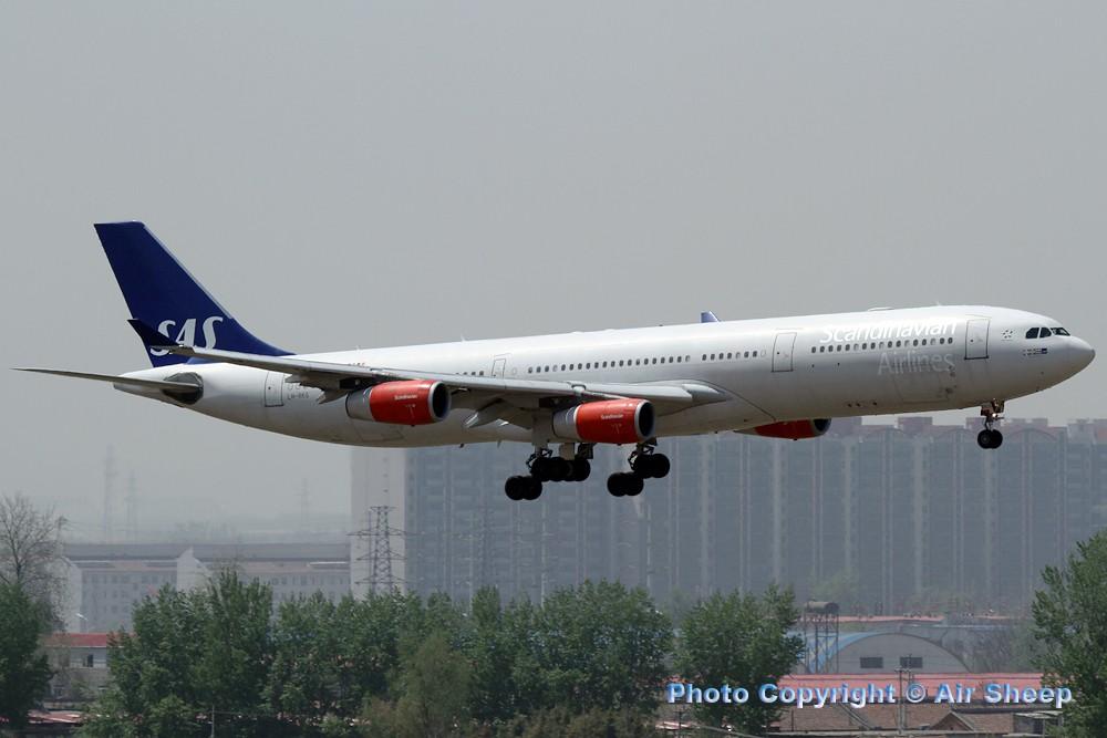 Re:[原创]飘在北京~~ AIRBUS A340-300 LN-RKG 中国北京首都机场