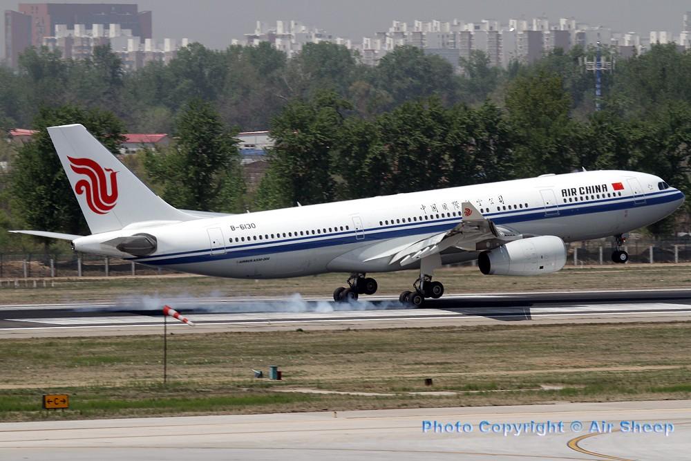 Re:[原创]飘在北京~~ AIRBUS A330-200 B-6130 中国北京首都机场