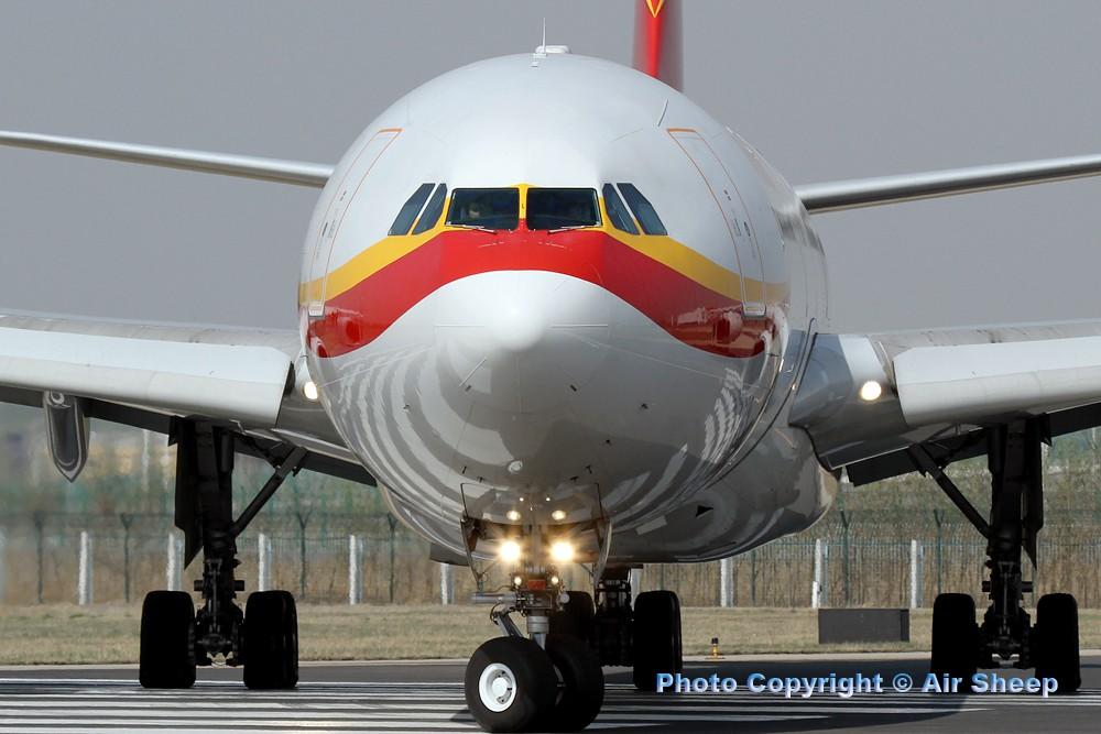 Re:[原创]飘在北京~~ AIRBUS A340-600 B-6509 中国北京首都机场