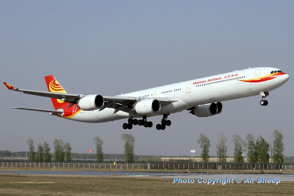 Re:[原创]飘在北京~~ AIRBUS A340-600 B-6508 中国北京首都机场