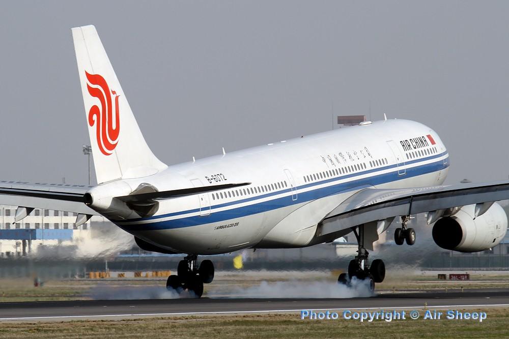 Re:[原创]飘在北京~~ AIRBUS A330-200 B-6072 中国北京首都机场