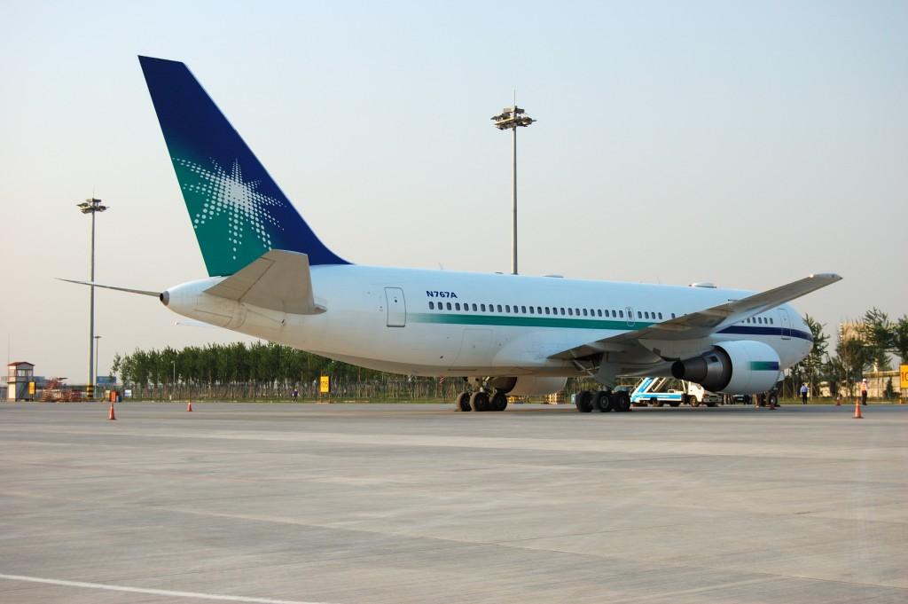 Re:[原创]来自TSN--5.13两架好飞机。 BOEING 767-200 N767A 中国天津滨海机场