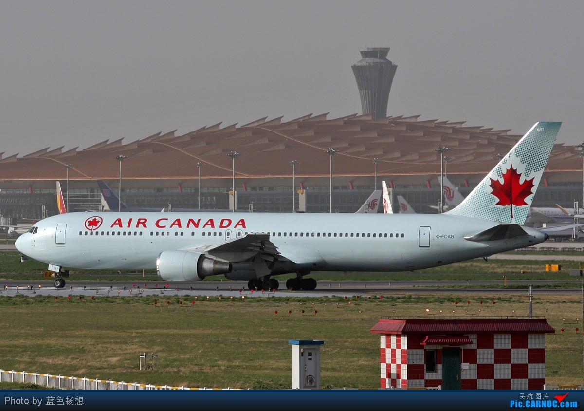 Re:[原创]<绝世痴飞>风沙挡不住通透!我们奋战T3 BOEING 767-300 C-FCAB 中国北京首都机场