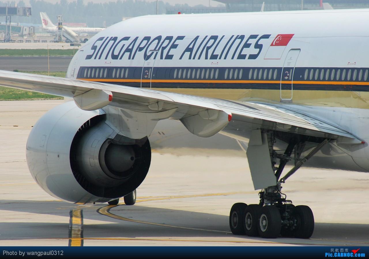 Re:[原创]贡献一组大头照!顶帖送飞机!跟帖同一架飞机送五架!(每人只限一次) BOEING 777-312ER 9V-SWA 北京首都国际机场