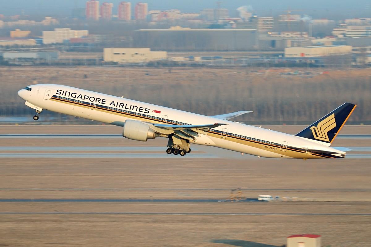 Re:[原创]贡献一组大头照!顶帖送飞机!跟帖同一架飞机送五架!(每人只限一次) BOEING 777-300ER 9V-SWA 中国北京首都机场