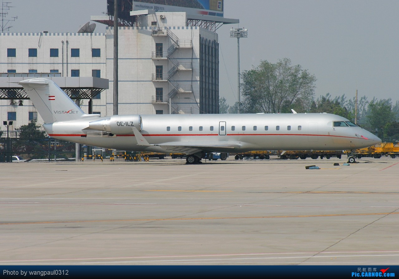 Re:[原创]恭喜论坛升级!【大大小小公务机】空客-伊留申-雅克-湾流-快车-豪客-挑战者-ERJ BOMBARDIER CL-600-2B19 CHALLENGER 850 OE-ILZ 北京首都国际机场