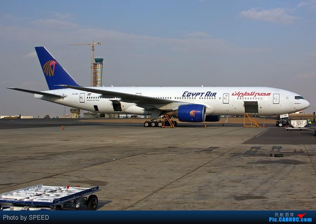 """Re:[原创]""""众里寻她千百度,蓦然回首那人却在灯火阑珊处""""-埃及星星的故事 BOEING 777-200 SU-GBP 埃及开罗机场"""
