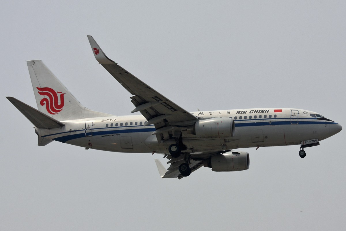Re:[原创]<绝世痴飞>国航绝对主力机型733/737/738当然NG的还有小姨哦! BOEING 737-700 B-5217 中国北京首都机场