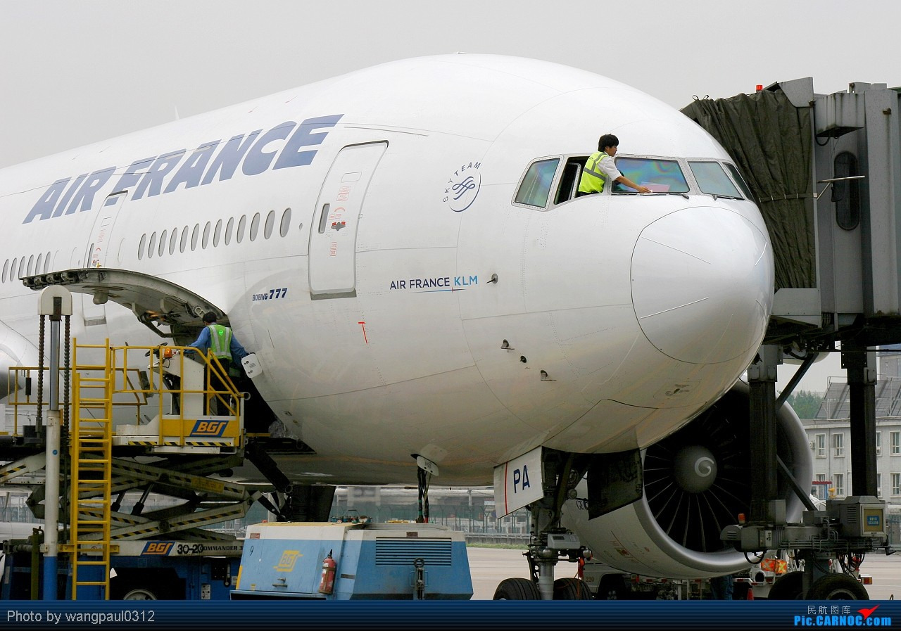 Re:[原创]★★★巴基斯坦航空新装亮相首都国际机场★★★ BOEING 777-228(ER) F-GSPA 北京首都国际机场