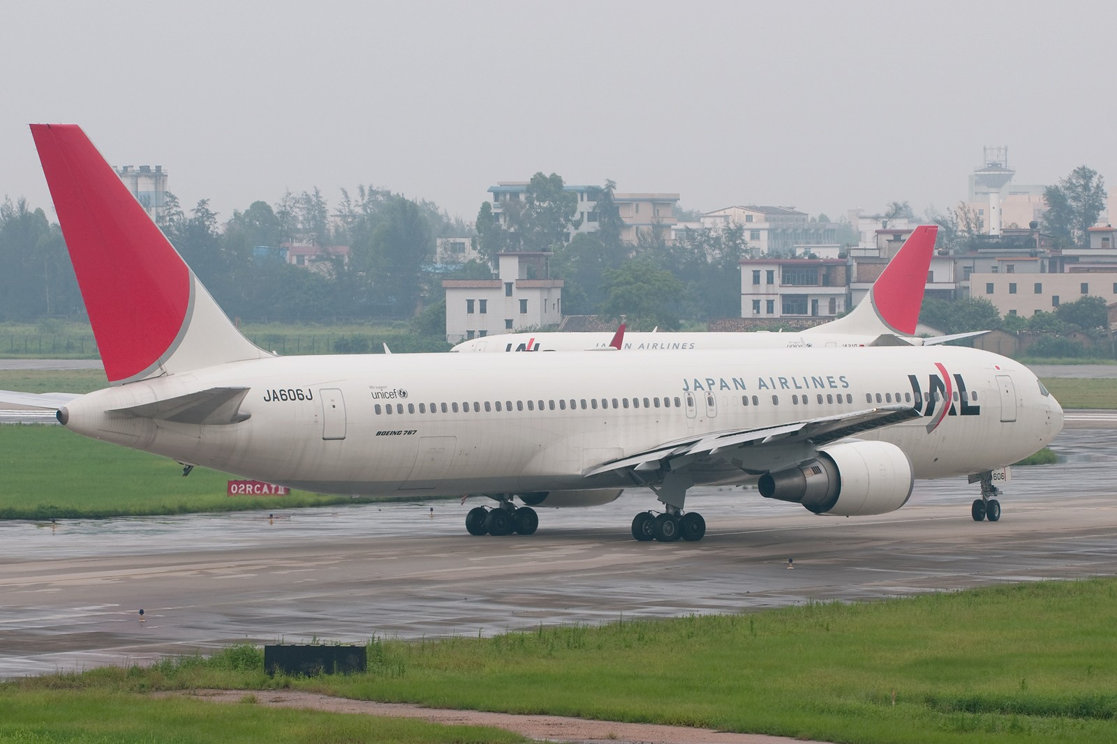 Re:[原创][CASG]暴雨又来了 BOEING 767 JA606J 中国广州白云机场